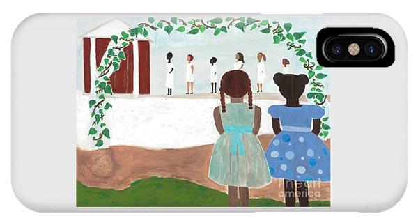 Magician iPhone Case - Ceremony In Sisterhood by Kafia Haile
