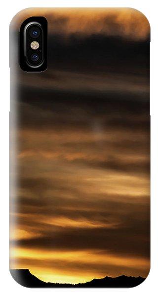 Cerro Pedernal IPhone Case
