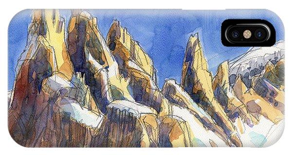 Cerro Torre, Patagonia IPhone Case