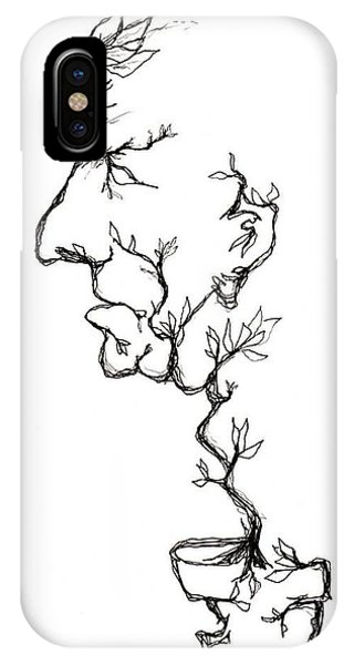 Cesar Salad-cracked Pots IPhone Case