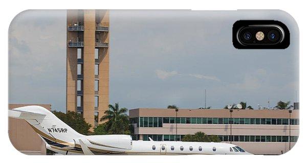 Cessna 750 Jet IPhone Case