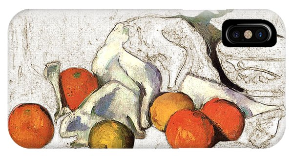 French Painter iPhone Case - Cezanne Oranges Digital Art by Karla Beatty