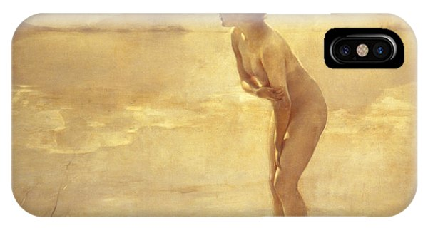 iPhone Case - Chabas, September Morn by Paul Chabas