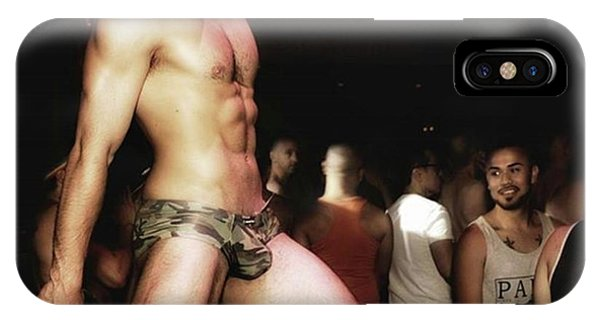 IPhone Case featuring the photograph Chad Stewart. At A Gogo Boy Appearance by Mr Photojimsf