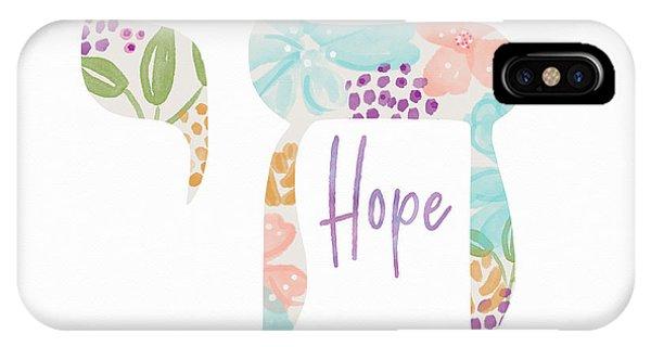 Watercolor iPhone Case - Chai Hope- Art By Linda Woods by Linda Woods