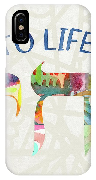 Chai To Life- Art By Linda Woods IPhone Case