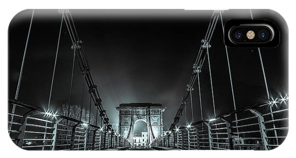 Chain Bridge IPhone Case