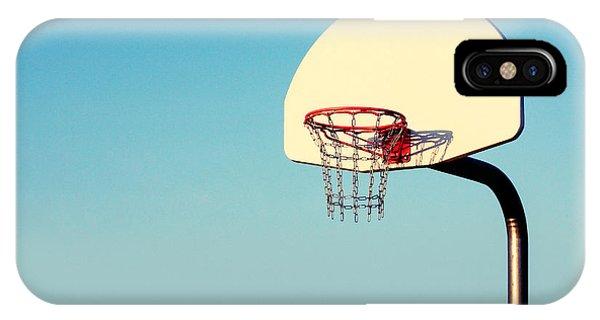 Sport iPhone X Case - Chain Net by Todd Klassy