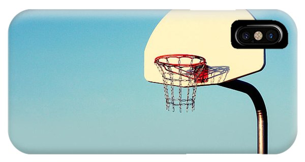 Basketball iPhone Case - Chain Net by Todd Klassy