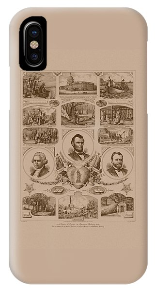 Chain Of Events In American History IPhone Case