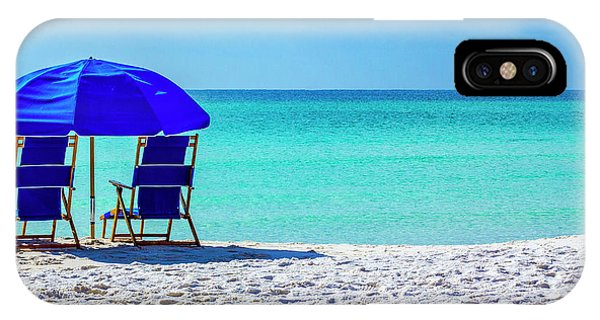 Beach Chair Pair IPhone Case