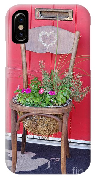 Chair Planter IPhone Case