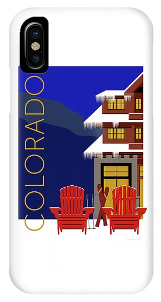 Colorado Chairs IPhone Case