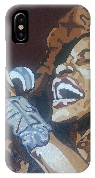 Chaka Khan IPhone Case