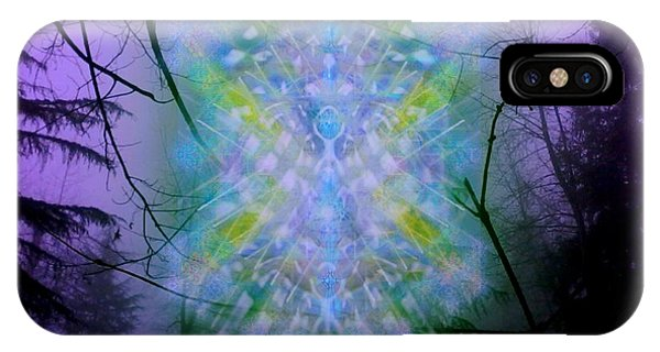 Chalice-tree Spirit In The Forest V1a IPhone Case