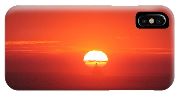 Challenging The Sun IPhone Case