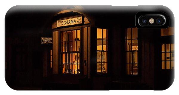 Chama Depot IPhone Case
