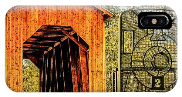 Chambers Railroad Bridge IPhone Case