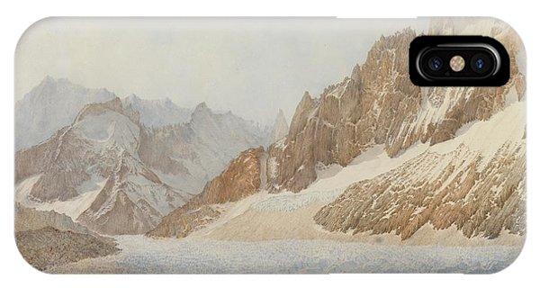 Mountain iPhone X Case - Chamonix by SIL Severn