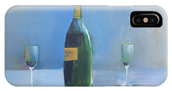 Champagne For Two IPhone Case