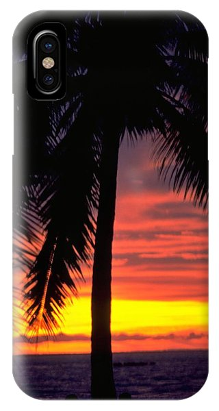 Champagne Sunset IPhone Case