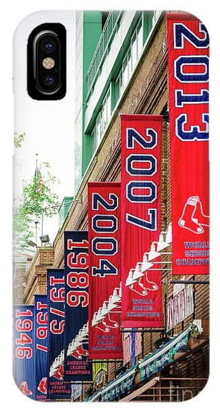 Red Sox iPhone Case - Champs Again by Mike Ste Marie