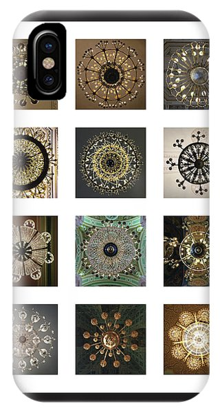 Collection Poster Chandeliers From Russia IPhone Case