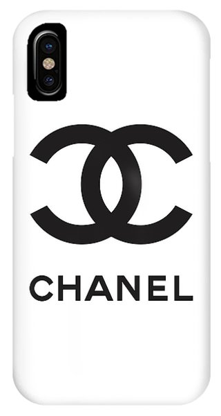 Luxury iPhone Case - Chanel - Black And White 04 - Lifestyle And Fashion by TUSCAN Afternoon