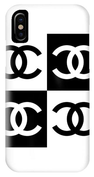 Designer iPhone Case - Chanel Design-5 by Three Dots