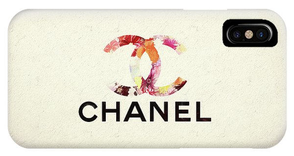 Chanel Floral Texture  IPhone Case