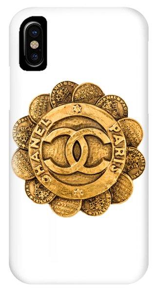 Luxury iPhone Case - Chanel Jewelry-2 by Nikita