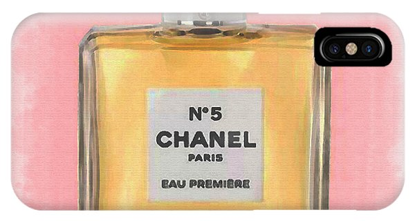 Chanel No 5 Eau De Parfum IPhone Case