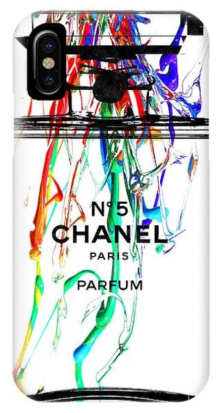 Chanel No. 5 Watercolor IPhone Case