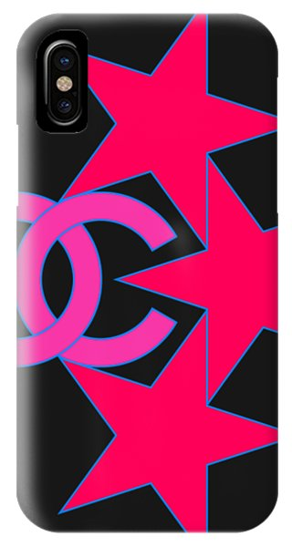iPhone Case - Chanel Stars-9 by Nikita