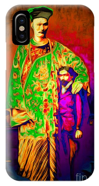 Barnum And Bailey iPhone Case - Chang The Chinese Giant 20151222 by Wingsdomain Art and Photography