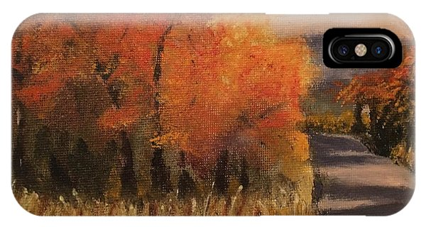 Changing Season IPhone Case