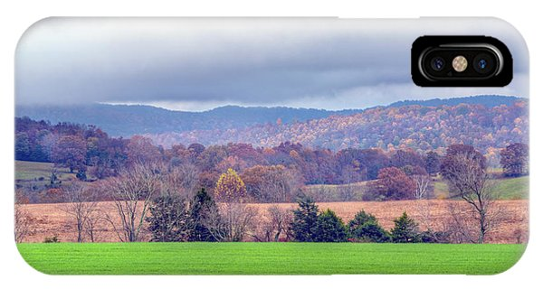 IPhone Case featuring the photograph Changing Seasons by Wanda Krack