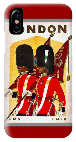 Changing The Guard London - 1937 IPhone Case