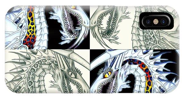Chaos Dragon Fact Vs Fiction IPhone Case