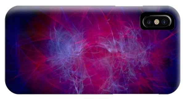 Light Paint iPhone Case - Chaos by Hyuntae Kim