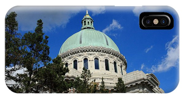 Chapel - Us Naval Academy 3 IPhone Case
