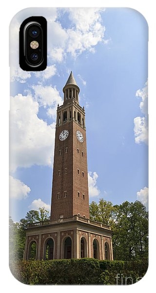 Chapel Hill Bell Tower IPhone Case