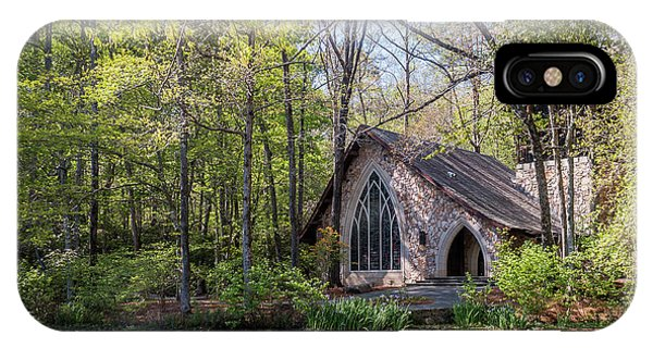 Chapel In The Woods IPhone Case