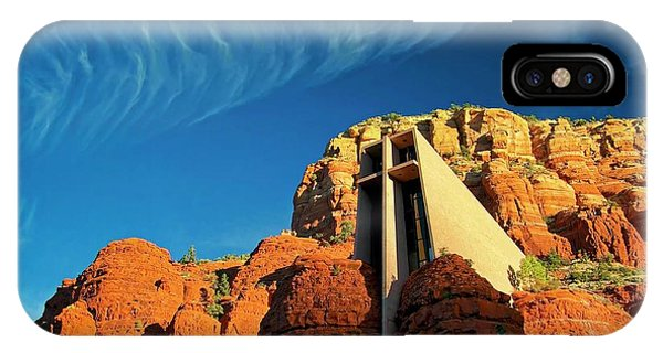 Chapel Of The Holy Cross, Sedona, Arizona IPhone Case
