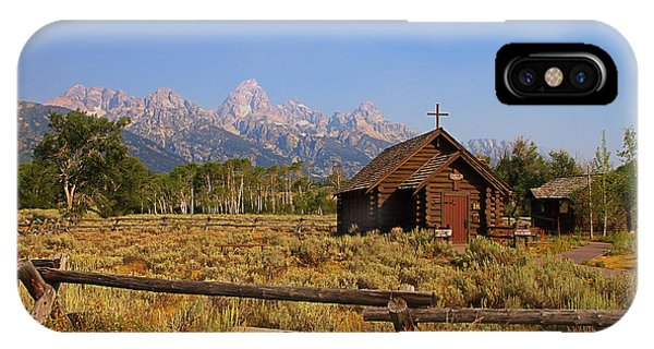 Chapel Of The Transfiguration IPhone Case