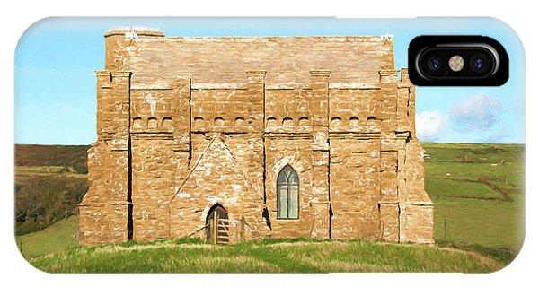 Dorset iPhone Case - Chapel On A Hill 2 by Roy Pedersen