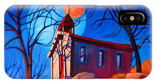Chapel On The Hill IPhone Case