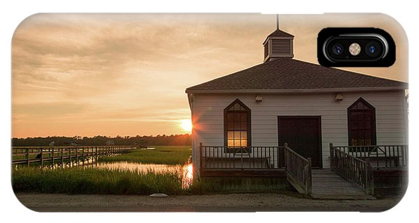 Tidal Marsh iPhone Case - Chapel On The Marsh by DiFigiano Photography