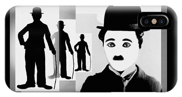 Chaplin, Charlie Chaplin IPhone Case