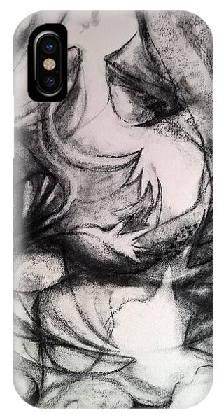 Charcoal Study IPhone Case